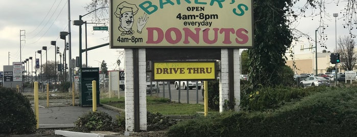 Baker's Donuts is one of California - The Golden State (Northern).
