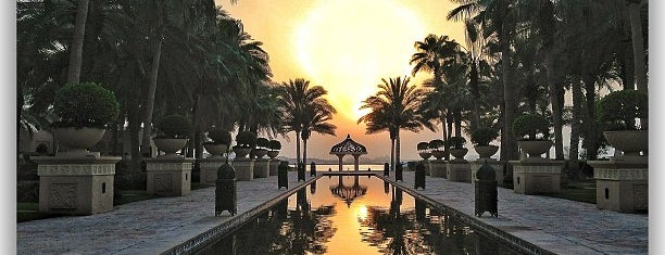 One and Only Royal Mirage Resort is one of Hotéis favoritos.