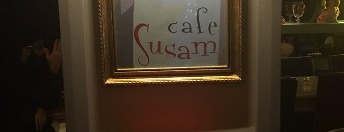 Susam Cafe is one of İSTANBUL GURME MEKANLAR.
