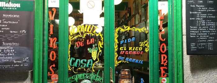 Bodegas Ricla is one of Madrid comer.