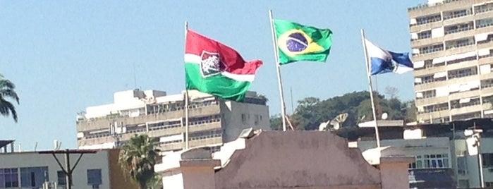 Fluminense Football Club is one of Aqui na terra tão jogando futebol.