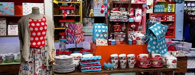 Cath Kidston is one of London.