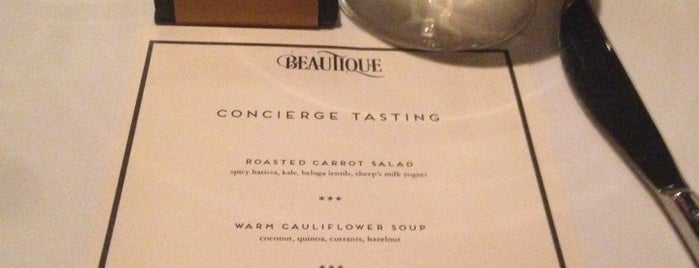 Beautique is one of NYC Restaurants: To Go Pt. 3.