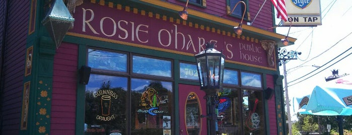 Rosie O'Hares Public House is one of Posti salvati di Robert.
