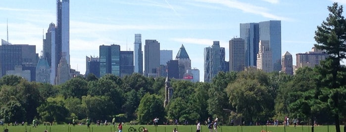 Central Park Great Lawn Softball Field #7 is one of Outdoor Wknd Favs..