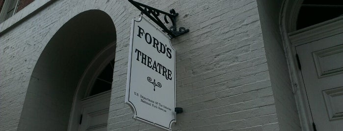 Ford's Theatre is one of worth re-exploring.