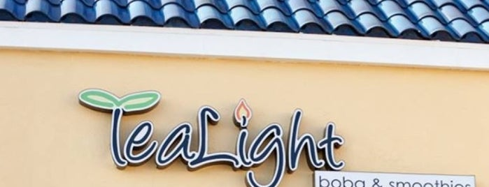 TeaLight Boba & Smoothies is one of Tea rooms.