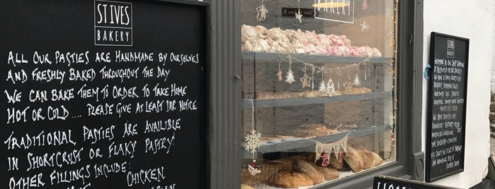 St Ives Bakery is one of Locais curtidos por Jon.