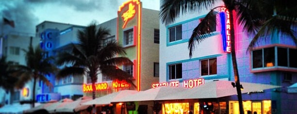 Ocean Drive is one of Welcome to Miami.