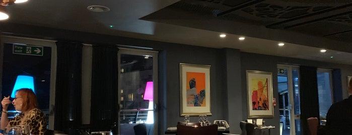 Malmaison Brasserie is one of Orte, die Jon gefallen.