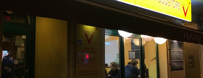 Hamy Cafe is one of Lieux qui ont plu à Jon.