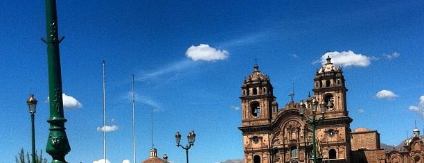 Plaza de Armas de Cusco is one of Sergio M. 🇲🇽🇧🇷🇱🇷さんのお気に入りスポット.