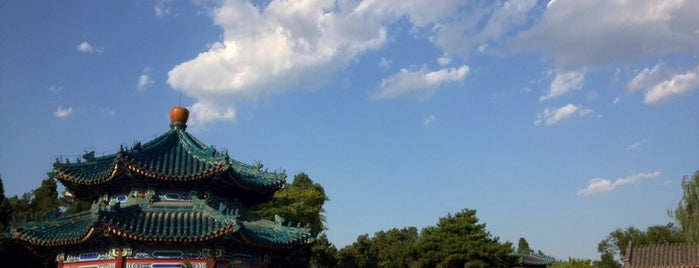 Zhongshan Park is one of China highlights.