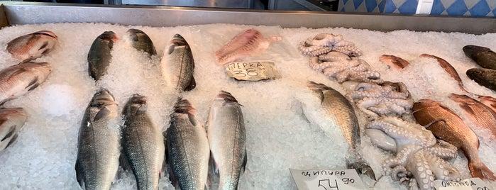 Salonica Fish is one of Lieux qui ont plu à Jana.
