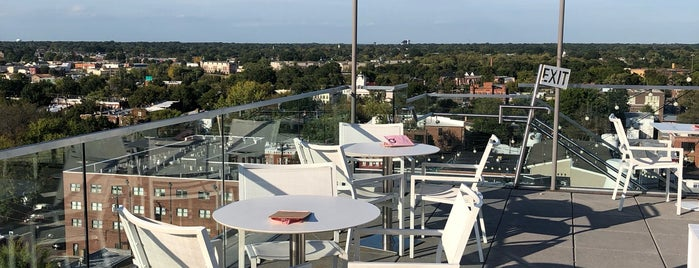 Quirk Hotel Rooftop is one of RVAJS Concierge Suggestions.