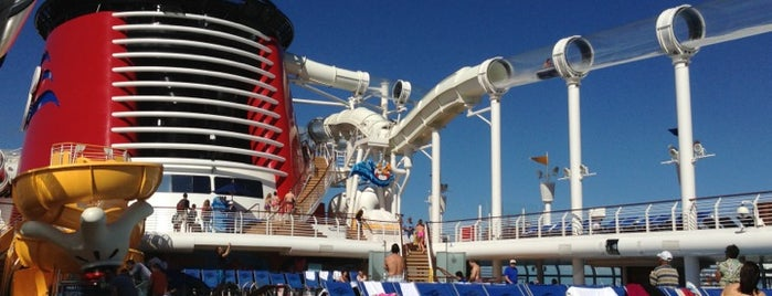 Disney Fantasy is one of US TRAVEL FL.