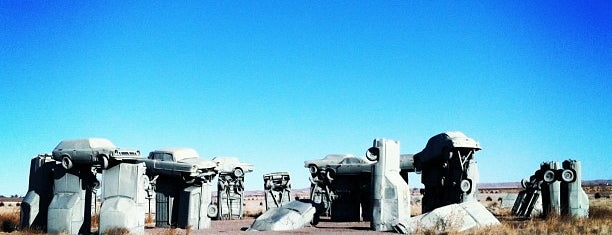 Carhenge is one of West Coast Sites.
