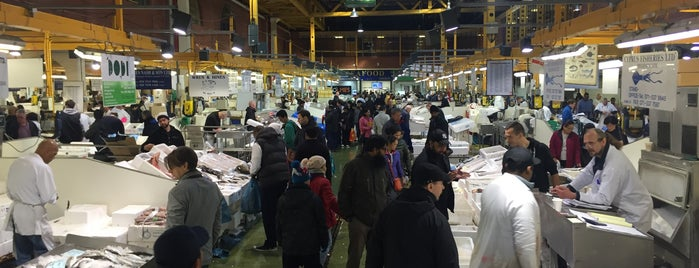 Billingsgate Market is one of My London.