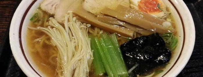 信州小麦ラーメン亀屋 is one of The 20 best value restaurants in ネギ畑.