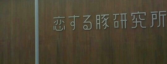 恋する豚研究所 is one of 行って食べてみたいんですが、何か?.