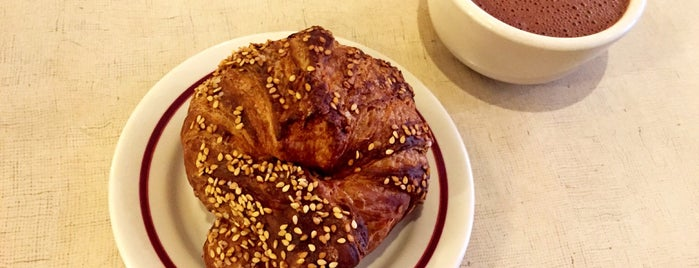 The City Bakery is one of NYC  cafe / coffee lovers (esp soy milk drinkers).