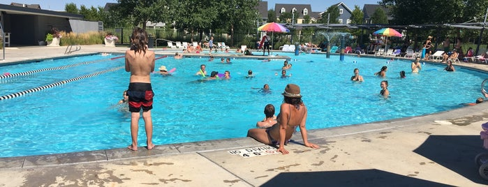 Stapleton F-15 pool is one of Stapleton Recreation & Outdoors.