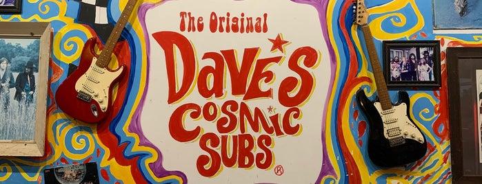 Dave's Cosmic Subs is one of สถานที่ที่บันทึกไว้ของ Colleen.