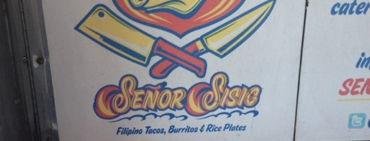 Señor Sisig is one of Places I've Been.