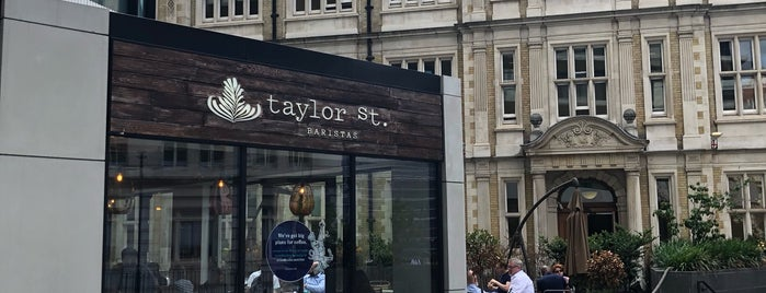 Taylor St Baristas is one of London.