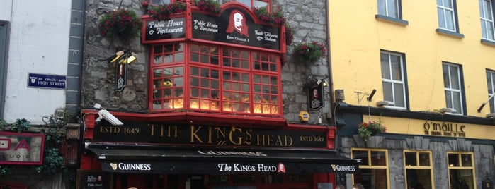 The Kings Head is one of Galway.