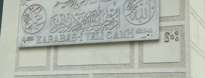 Karabaş-ı Veli Camii is one of Lieux qui ont plu à MEHMET YUSUF.
