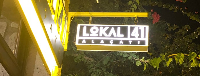 Lokal 41 is one of Çeşme-Alaçatı.