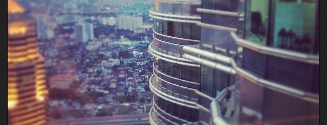 PETRONAS Twin Towers is one of Beautiful Views.
