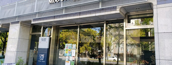 muc coffee roasters靱公園店 is one of Potential Work Spots: Osaka.