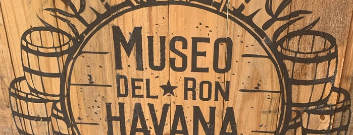 Museo del Ron Havana Club is one of erykacea: сохраненные места.