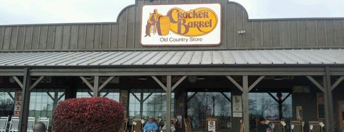 Cracker Barrel Old Country Store is one of Favorites!. :).