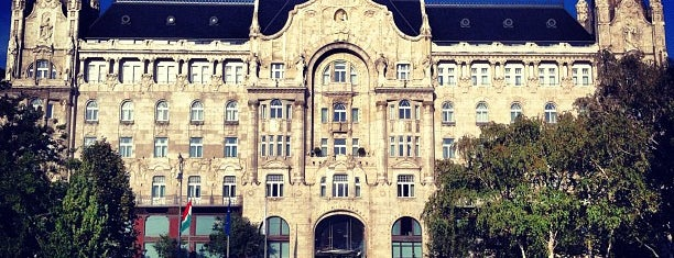 Four Seasons Hotel Gresham Palace Budapest is one of EUROPE.