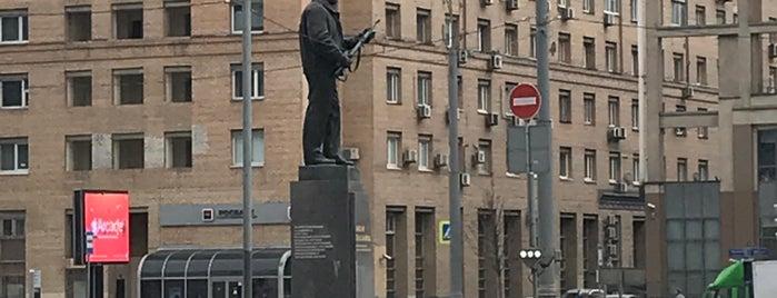 Памятник М. Т. Калашникову is one of Orte, die Jano gefallen.