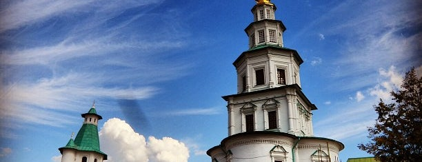 Новоиерусалимский монастырь is one of Lugares favoritos de Полина.