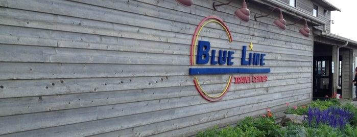 Blue Line Cafe is one of Tempat yang Disukai Austin.