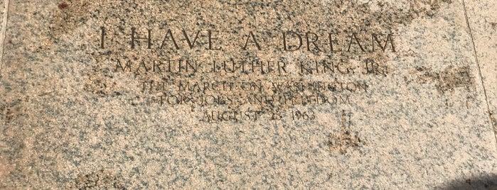 Where MLK gave his speech is one of Locais curtidos por Shawn.