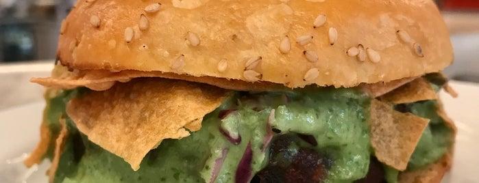 Lekka Burger is one of NY Vegetarian Favorites.