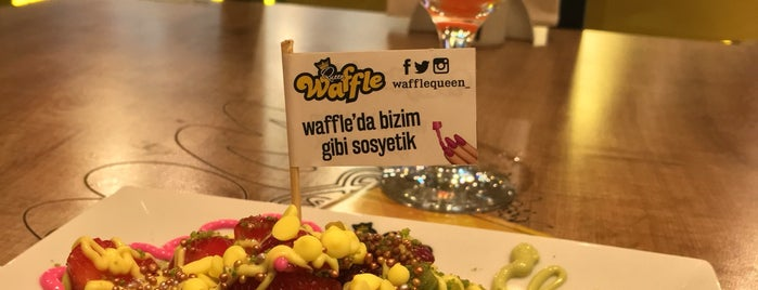 Queen Waffle is one of KAYSERİ.