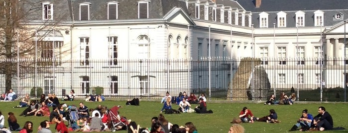 Parc d'Egmont is one of S Marks The Spots in BRUSSELS.