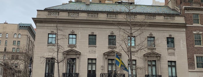 Swedish Residence is one of 🗽 New York City, NY.