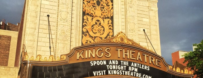 Kings Theatre is one of NYC Brooklyn.