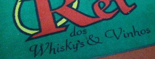 Rei dos Whisky's & Vinhos Vip is one of Lieux sauvegardés par Marcos.