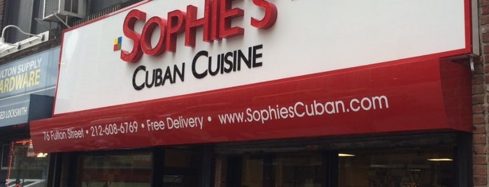 Sophie's Cuban Cuisine is one of Davidさんのお気に入りスポット.