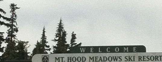 Mt. Hood Meadows Ski Resort is one of Tempat yang Disukai Darin.