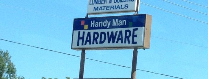 Handyman True Value Hardware is one of Lieux qui ont plu à Jackie.